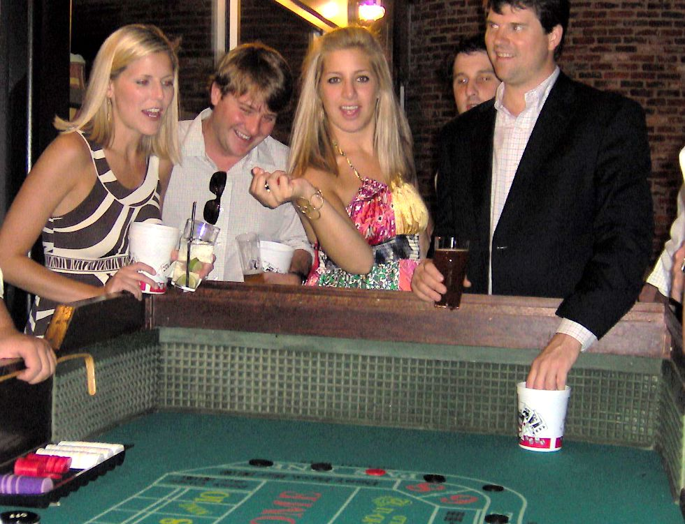 casino night holiday party